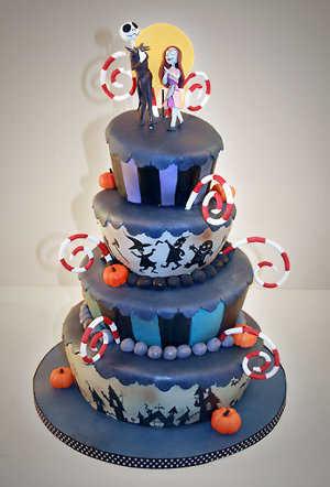 """pasteles de novios: """"el cadaver de la novia"""" y """"el extraño mundo de Jack"""" Torta5"""