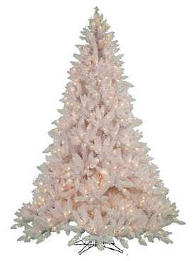 arbol navidad blanco