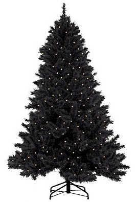 arbol navidad negro