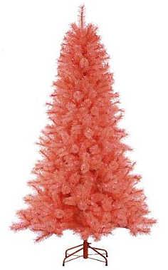 arbol navidad rosa